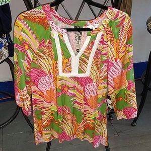 Crown & Ivy blouse medium new